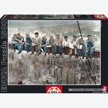 Jigsaw puzzle 1500 pcs - Breakfast in New York - Black and White (by Educa)