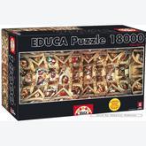 Jigsaw puzzle 18000 pcs - Sistine Chapel - Genuine (by Educa)