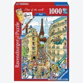 1000 pcs - Paris (by Ravensburger)