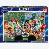 1000 pcs - The Marvellous World of Disney - Disney Family (by Educa)