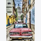 Jigsaw puzzle 1000 pcs - Vintage Car in Old Havana (by Educa)