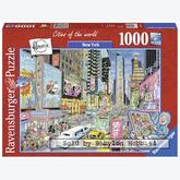 Jigsaw puzzle 1000 pcs - New York - Fleroux (by Ravensburger)