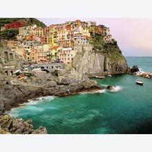 Jigsaw puzzle 2000 pcs - Cinque Terre, Italy (by Ravensburger)