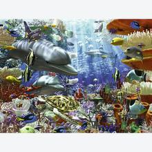 Jigsaw puzzle 3000 pcs - Oceanic Wonders - Original (by Ravensburger)