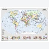 1000 pcs - Political World Map - Original (by Ravensburger)