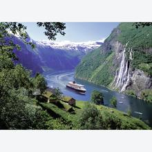 Jigsaw puzzle 1000 pcs - Norwegian Fjord - Original (by Ravensburger)