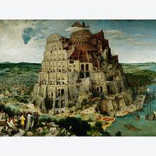 Jigsaw puzzle 5000 pcs - Brueghel the Elder: The Tower of Babel - Original (by Ravensburger)