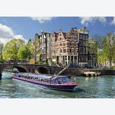1000 pcs - Canal cruise in Amsterdam (by Ravensburger)