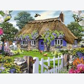 Jigsaw puzzle 1500 pcs - Cottage in England (by Ravensburger)