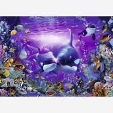 Jigsaw puzzle 1000 pcs - Beautiful undersea Passage  - Christian Riese Lassen (by Ravensburger)