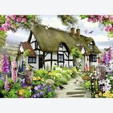 Jigsaw puzzle 500 pcs - Idyllic Cottage (by Ravensburger)