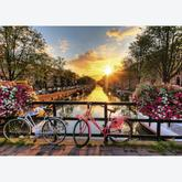 1000 pcs - Cycling in Amsterdam (by Ravensburger)
