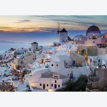 Jigsaw puzzle 1000 pcs - Evening in Santorini (by Ravensburger)