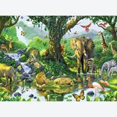 Jigsaw puzzle 500 pcs - Jungle Harmony (by Ravensburger)