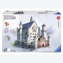 Jigsaw puzzle 216 pcs - Neuschwanstein - Puzzle 3D (by Ravensburger)