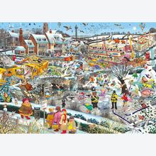 Jigsaw puzzle 1000 pcs - I Love Winter - Mike Jupp (by Gibsons)