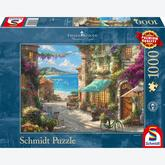 Jigsaw puzzle 1000 pcs - Bar on the Italian Riviera - Thomas Kinkade (by Schmidt)
