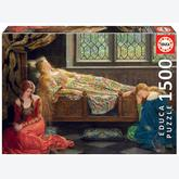 Jigsaw puzzle 1500 pcs - The Sleeping Beauty, John Collier (by Educa)