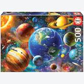 Jigsaw puzzle 500 pcs - Solar System (by Educa)