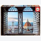 1000 pcs - Views of Florence, Italy (by Educa)