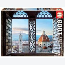 Jigsaw puzzle 1000 pcs - Views of Florence, Italy (by Educa)
