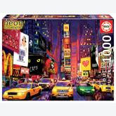 Jigsaw puzzle 1000 pcs - Times Square, New York - Neon (by Educa)