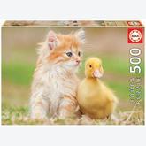 Jigsaw puzzle 500 pcs - Adorable Friends (by Educa)