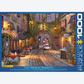 Jigsaw puzzle 1000 pcs - The French Walkway - Dominic Davison (by Eurographics)