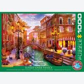 Jigsaw puzzle 1000 pcs - Sunset over Venice (by Eurographics)