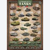 Jigsaw puzzle 1000 pcs - History of Tanks (by Eurographics)