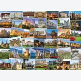 Jigsaw puzzle 1000 pcs - Globetrotter Castles and Palaces (by Eurographics)