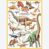 Jigsaw puzzle 1000 pcs - Dinosaurs of the Jurassic (by Eurographics)