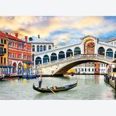 Jigsaw puzzle 1000 pcs - Venice Rialto Bridge (by Eurographics)