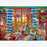 Jigsaw puzzle 1000 pcs - Patchwork Craft Room (by Eurographics)