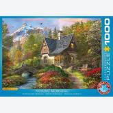Jigsaw puzzle 1000 pcs - Nordic Morning - Dominic Davison (by Eurographics)