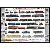 Jigsaw puzzle 1000 pcs - History of Trains (by Eurographics)