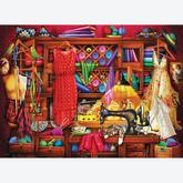 Jigsaw puzzle 1000 pcs - Sewing Craft Room (by Eurographics)