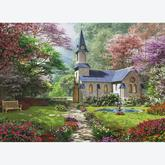 Jigsaw puzzle 1000 pcs - Blooming Garden - Dominic Davison (by Eurographics)