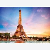 Jigsaw puzzle 1000 pcs - Paris La Tour Eiffel (by Eurographics)
