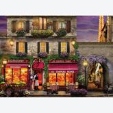 Jigsaw puzzle 1000 pcs - The Red Hat Restaurant Paris (by Eurographics)
