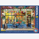 Jigsaw puzzle 1000 pcs - The Greatest Bookstore in the World (by Eurographics)
