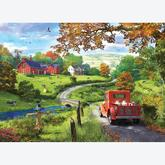 Jigsaw puzzle 1000 pcs - The Country Drive - Dominic Davison (by Eurographics)