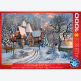 Jigsaw puzzle 1000 pcs - Christmas Cottage - Dominic Davison (by Eurographics)