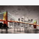 Jigsaw puzzle 1000 pcs - New York City Brooklyn Bridge (by Eurographics)