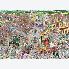 Jigsaw puzzle 1000 pcs - I Love Weddings - Mike Jupp (by Gibsons)