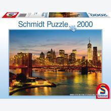 Jigsaw puzzle 2000 pcs - New York (by Schmidt)