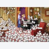 Jigsaw puzzle 1000 pcs - 101 Dalmatians - Disney (by Ravensburger)