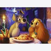 1000 pcs - Lady and the Tramp - Disney (by Ravensburger)