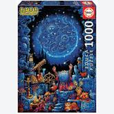 Jigsaw puzzle 1000 pcs - Astrologer 2 Neon - Neon (by Educa)