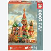 Jigsaw puzzle 1000 pcs - St Basil´s Cathedral, Moscow (by Educa)